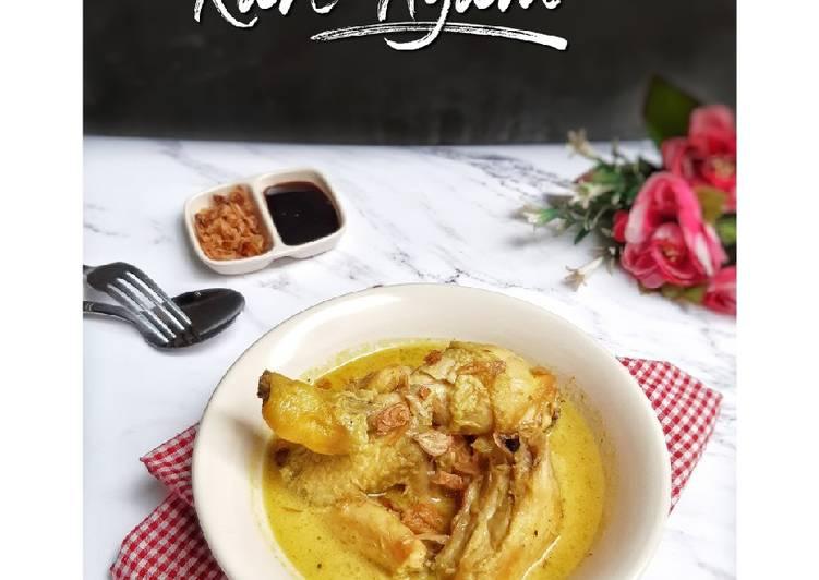 Resep Kare Ayam yang enak
