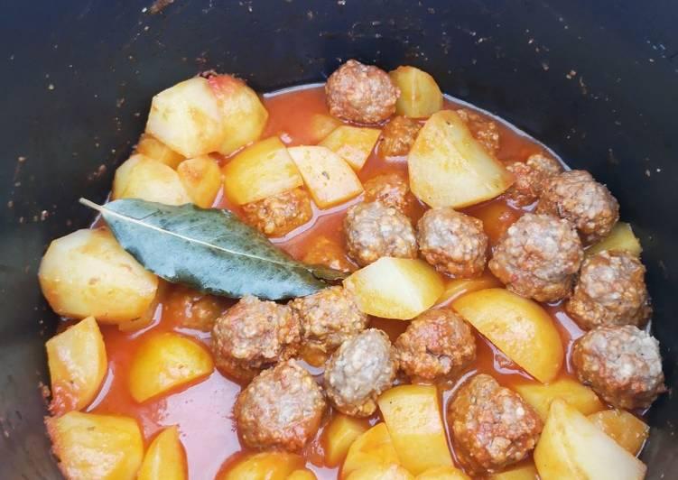 Pommes de terre boulettes au cookeo
