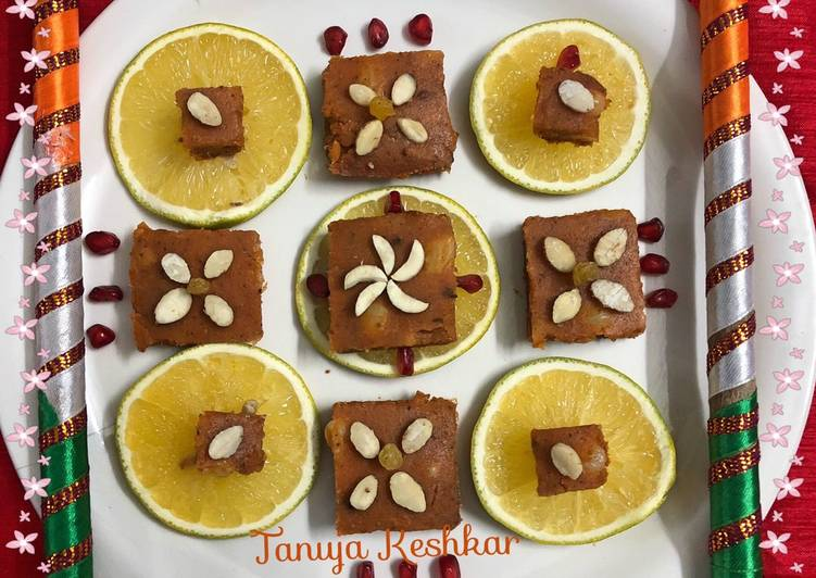 Singhara Orange pomegranate delights
