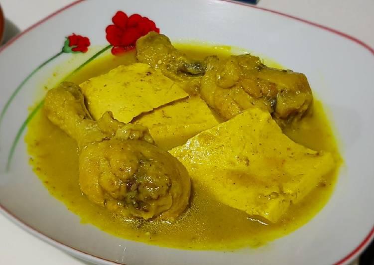 Resep Gulai Ayam Tahu yang Sempurna