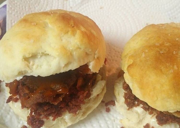 Recipe of Homemade Meatlovers Biscuits