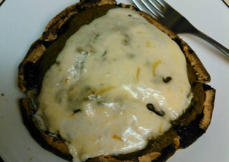 Portobello Mushroom and Alfredo