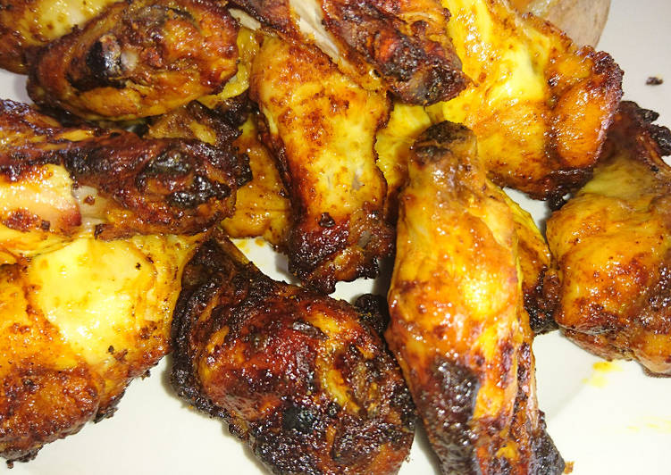 Recipe: Tasty Hot & Juicy Air Fried Chicken Wings