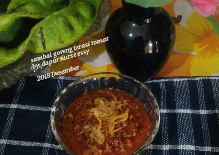 Sambal goreng terasi tomat