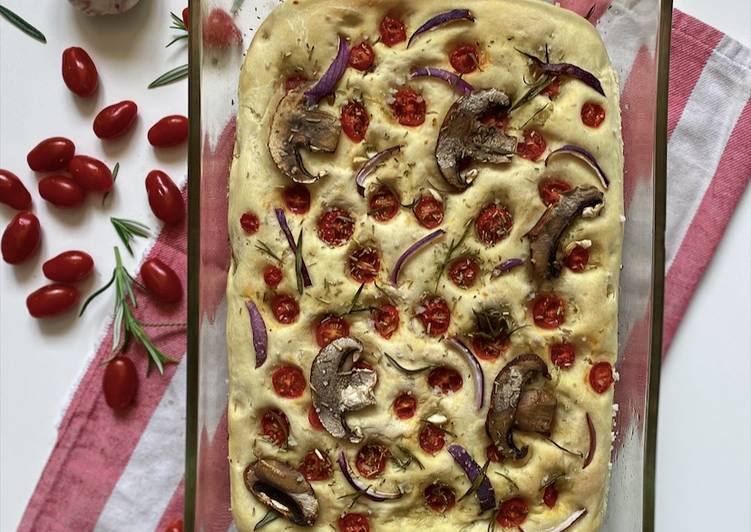 Easiest Way to Prepare Perfect Foccacia