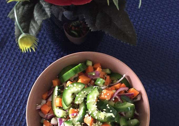 Cucumber Salad Asian Dressing