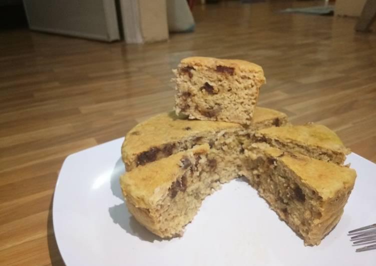 Cake Oat Pisang Kurma