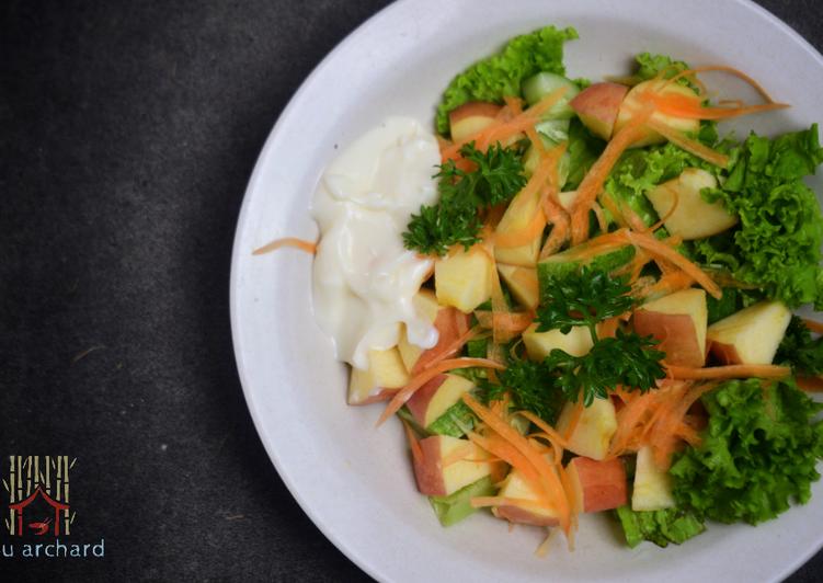 Salad Sayur Buah Yogurt Mayo #SaladAction