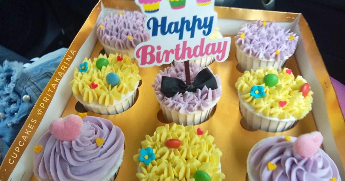 133 Resep Cupcake Ulang Tahun Enak Dan Sederhana Cookpad