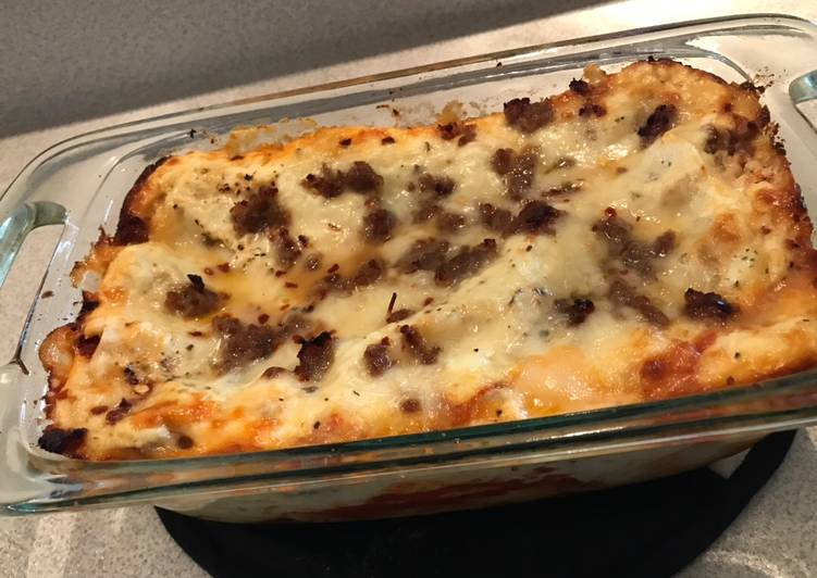 Lasagna with an Alfredo twist, Heart Friendly Foods You Must Eat