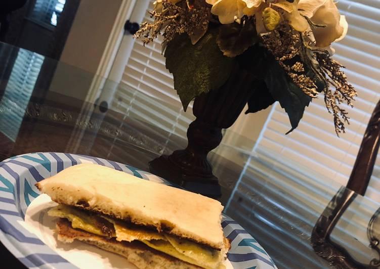Recipe of Perfect Breakfast sandwich