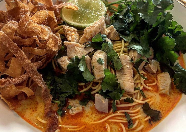 Recipe of Favorite Chiang Mai Noodle Soup