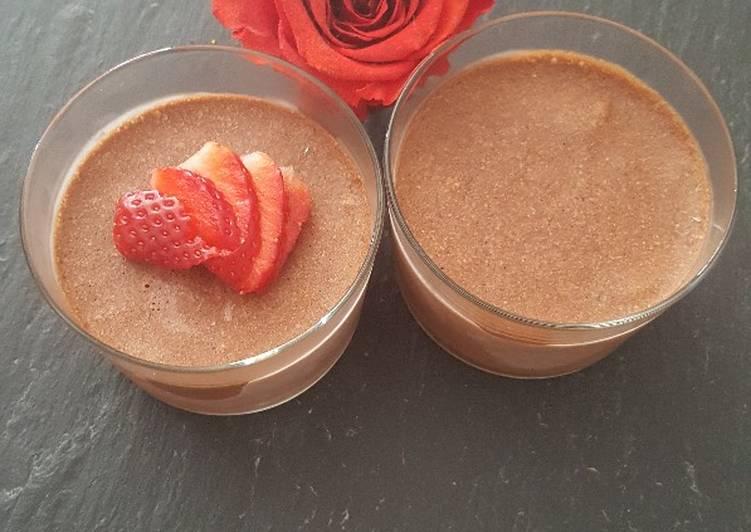 Recette: Mousse au chocolat glacé