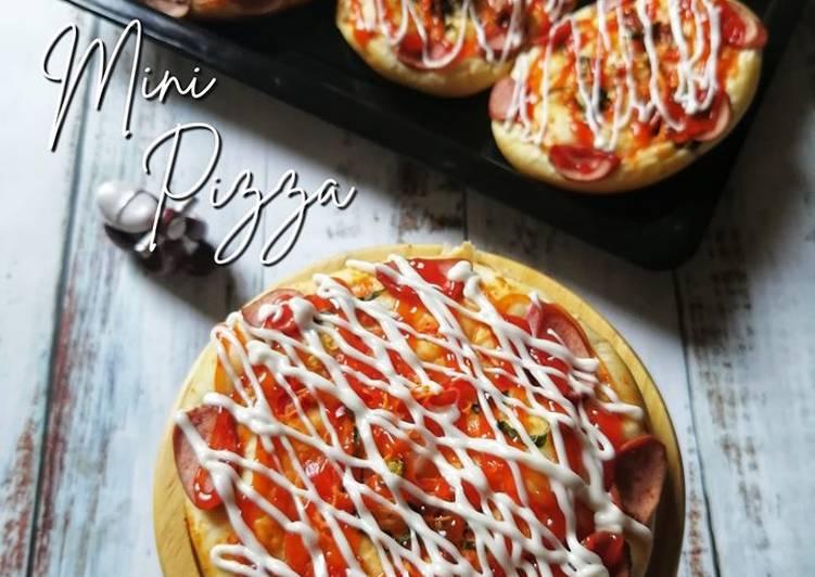Resepi: Mini Pizza Malaysia  Termudah