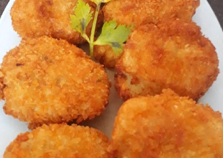 Perkedel Ikan Crispy