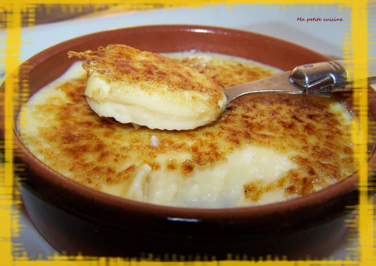 Crema catalana ou crème catalane