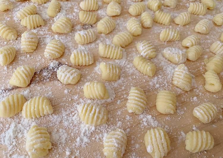 Ricetta Gnocchi di patate fast