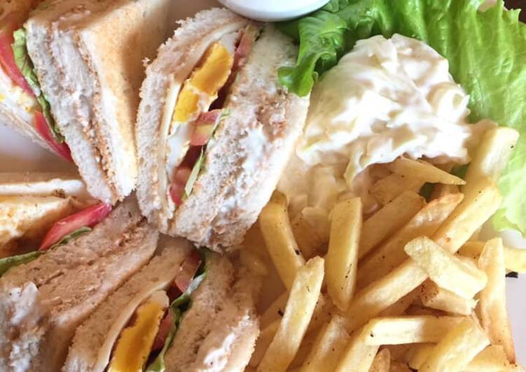Easiest Way to Make Quick Club Sandwiches