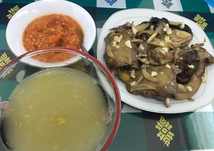 Resep Ayam Kampung Tim Jahe yang Lezat Sekali