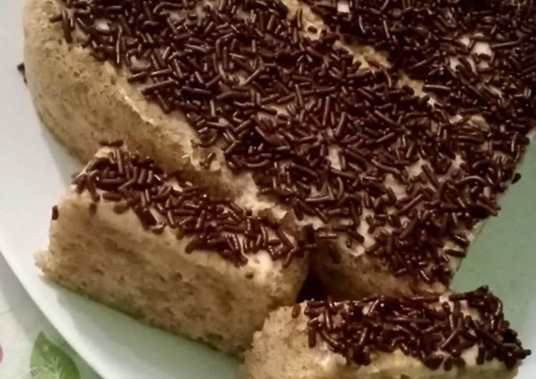 Soft Cake Pisang Emas Kukus