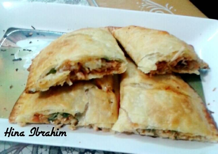 5 Minute Recipe of Winter Chicken Tandoori Calzone