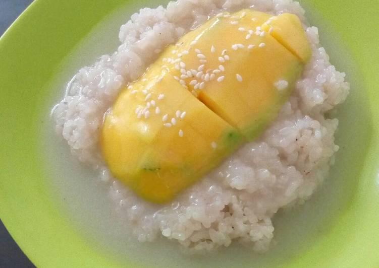 Resep Manggo Sticky Rice Ricecooker Yang Enak Banget Paduan Masakan Nusantara