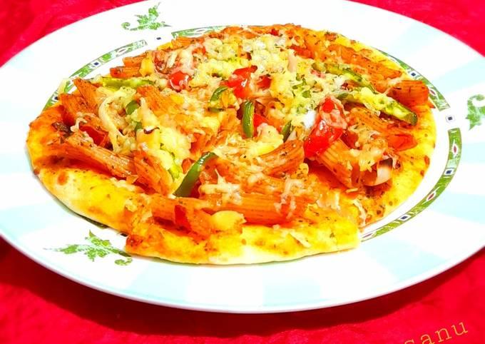Recipe: Yummy Pasta Pizza