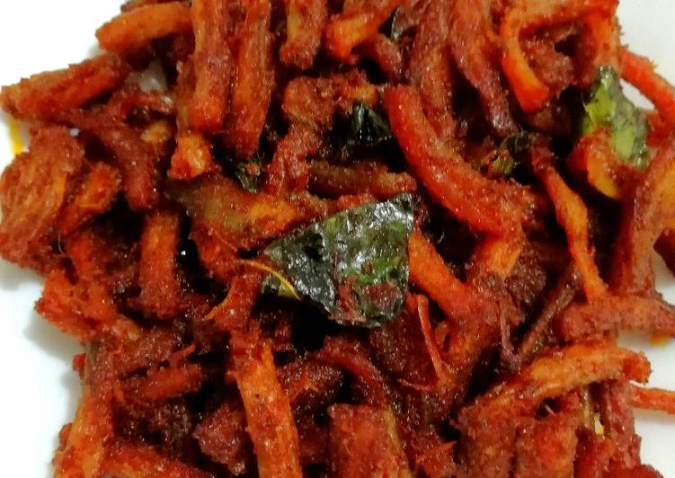 Step-by-Step Guide to Make Quick Bombil fry(Dried Bombay duck fry)