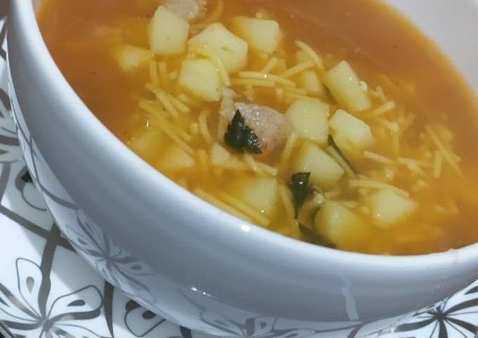 Late night hungry hubby soup