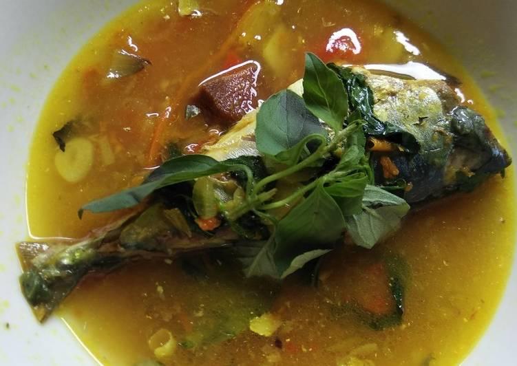 Garang Asam Ikan Tuna