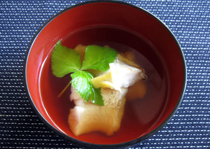Fish Clear Soup