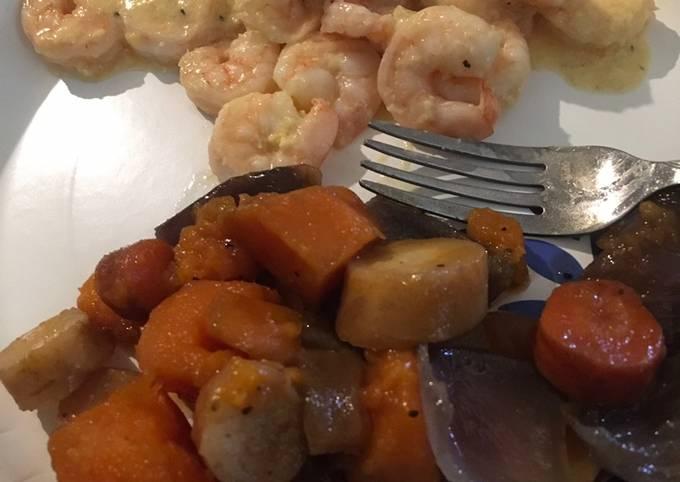 Sherry shrimp sauce