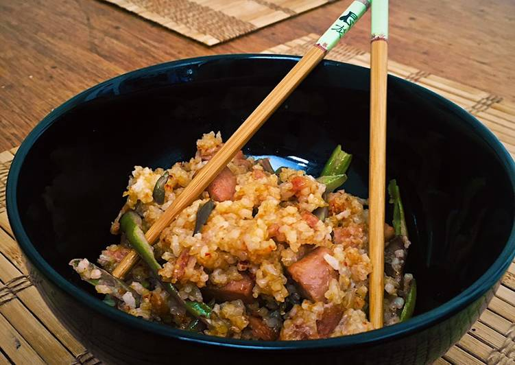 Recipe of Quick Spam Fried Rice
