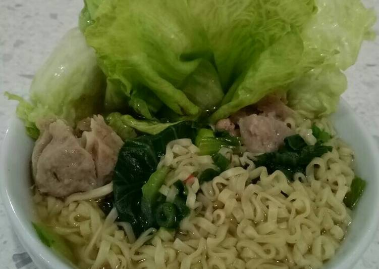 Easiest Way to Make Perfect Special Instant Noodle