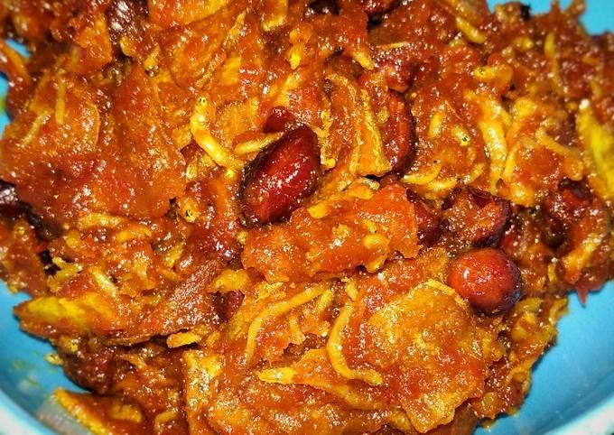 Sambel Kering kentang teri kacang