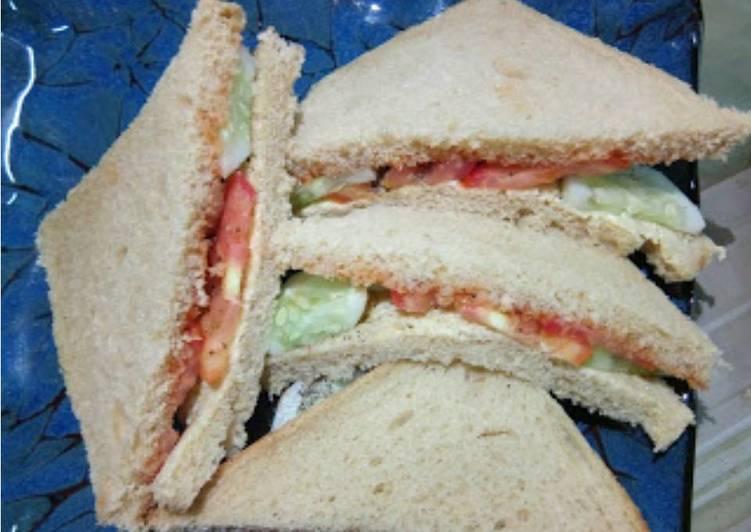 Cucumber -Tomato Sandwich