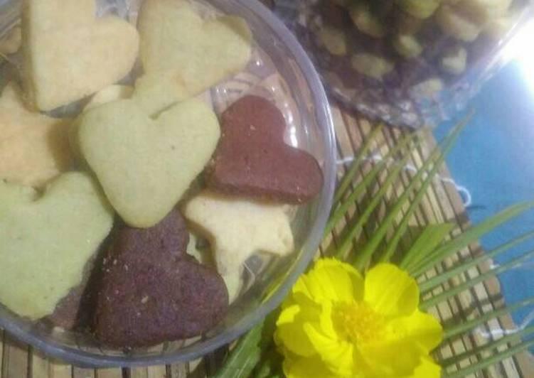 SuMaCo Cookies (susu,matcha,coklat) no telur