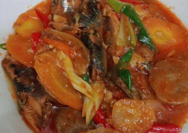 Ikan sardines enak