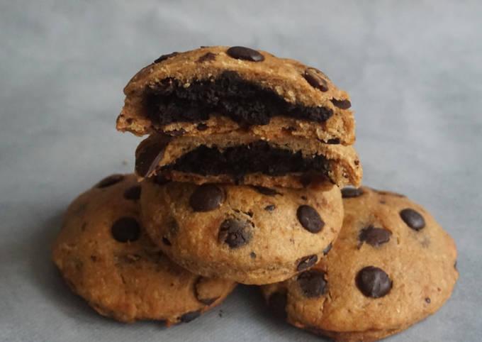 Cookies fourrés au cacao