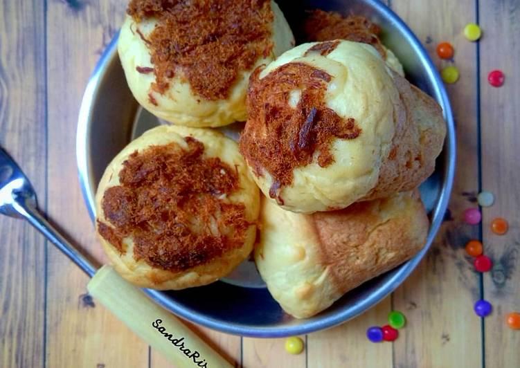 Roti Jamur Abon Isi Coklat