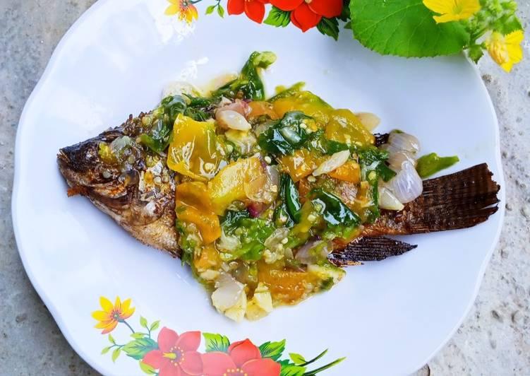Ikan Mujair Sambal Ijo
