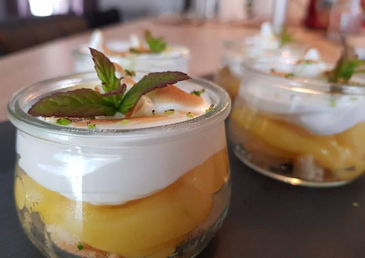 Crème au Citron Meringuée