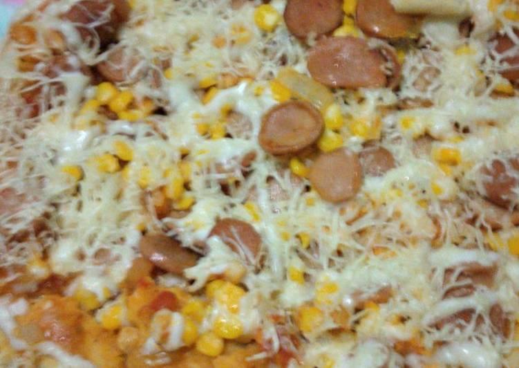 Pizza teflon super simpel
