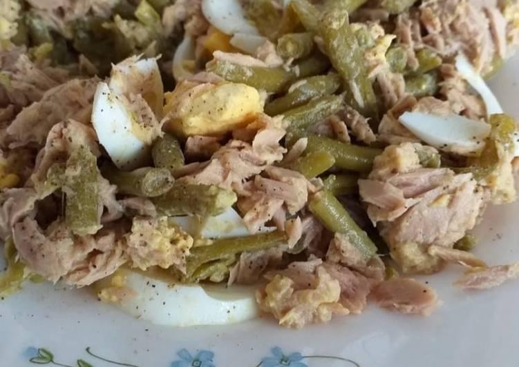 recette Haricots au œufs dur Le plus simple