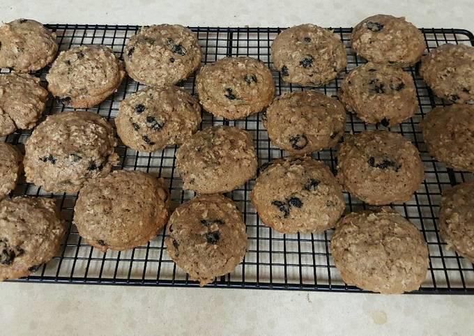 Trumbo Oatmeal Blueberry Cookies