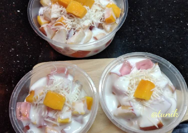 312. Salad Buah Jelly - cookandrecipe.com