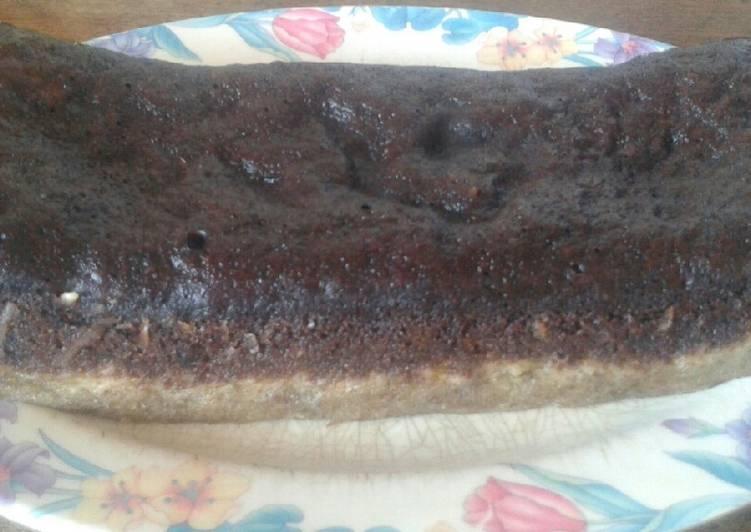 cara bikin Bolu Pisang Kukus Lapis Coklat Keju - Sajian Dapur Bunda