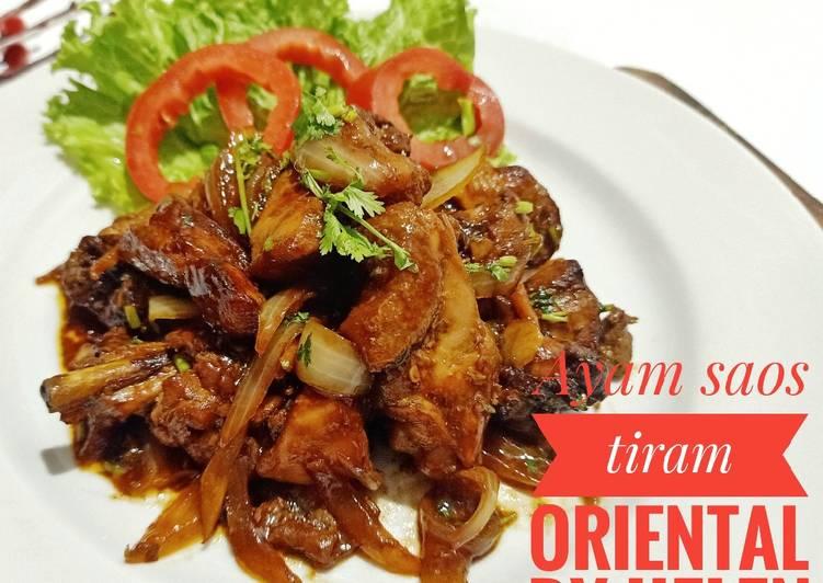 Ayam saos tiram oriental