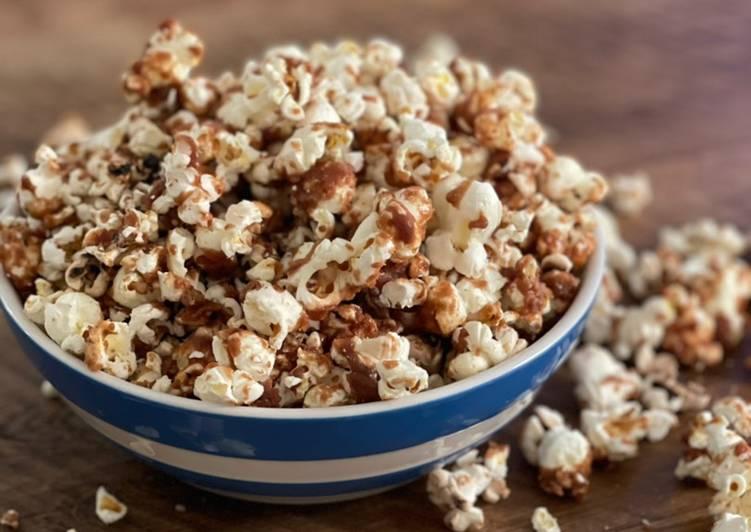 Easiest Way to Make Favorite Caramel popcorn