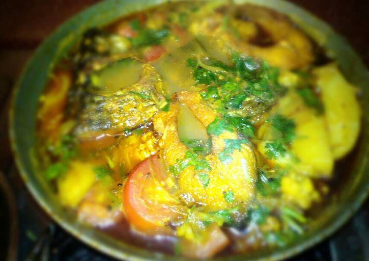 How to Make Any-night-of-the-week Katla fish curry
